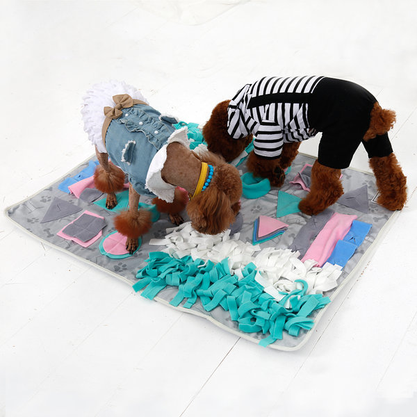 더플래 분리불안 해소 강아지 노즈워크 장난감 매트 상품이미지