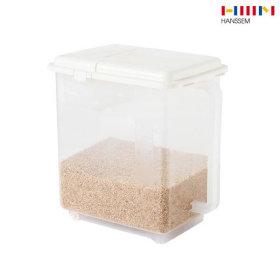 무빙 핸디 계량 쌀통 5kg