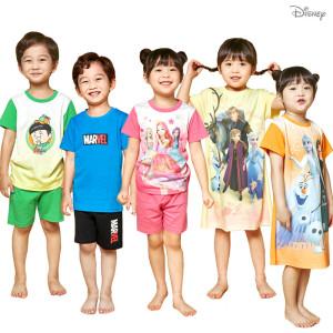 [디즈니]시크릿쥬쥬/디즈니 봄맞이 아동 원피스/실내복/속옷