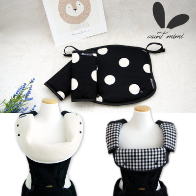 Organic baby toddler drool pad baby carrier front facing warmer