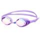 미러 수경 PN-1200M 퍼플 와이드렌즈 물안경