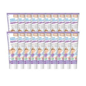 어린이 유아 치약 포도향 90g 20개+포도치약