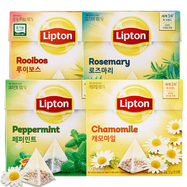 립톤 허브티 10T /캐모마일/페퍼민트/루이보스 상품이미지