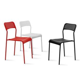 스파크인 의자 인테리어 플라스틱 테이블 카페 1인