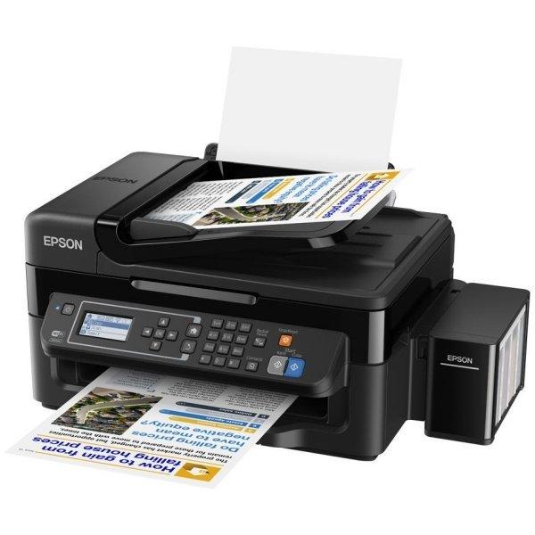 Epson 정품 무한 L565 A4/인쇄 복사 스캔 팩스/WiFi 상품이미지