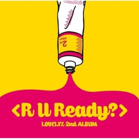 Lovelyz - R U Ready / 2nd album / K-POP /