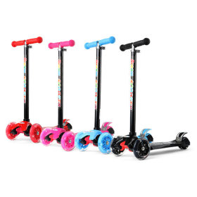 2018 Dream Kick Scooter/scooter/LED wheels/4 level height control/kickboard