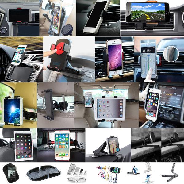 CD 헤드레스트 휴대폰 핸드폰 스마트폰 차량용 거치대 상품이미지