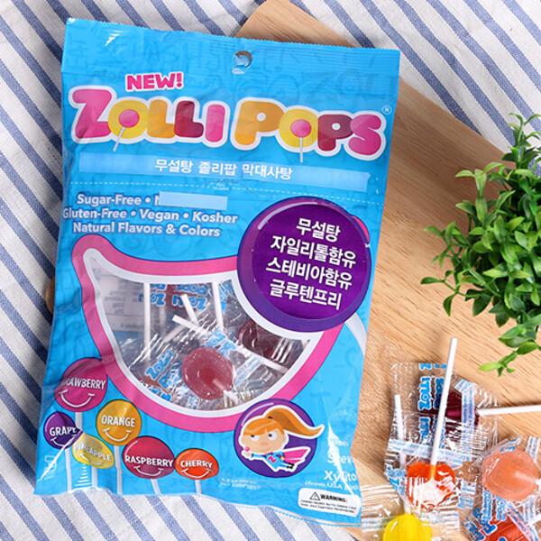 오가닉스토리  졸리팝 막대사탕 (ZOLLI POP) 125g 상품이미지