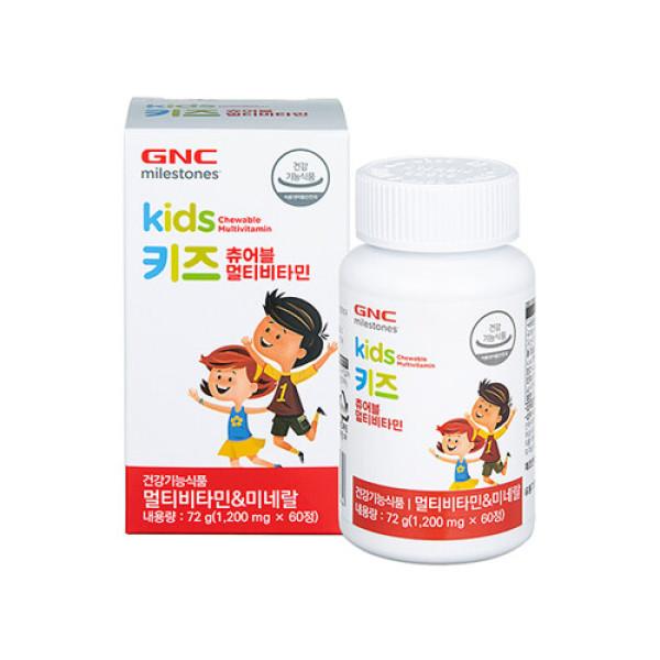 GNC  키즈 츄어블 멀티비타민(60정) 상품이미지