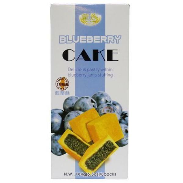 로얄패밀리  블루베리 케익 184g 상품이미지