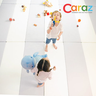 Caraz Folder Mat 4-panel Cutie 2pcs + Pad 2pcs/playroom mat