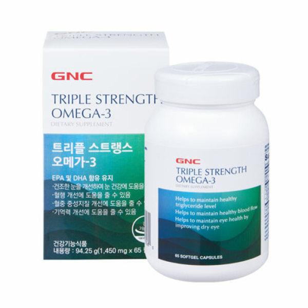 GNC  트리플스트랭스 오메가-3(65캡슐) 상품이미지