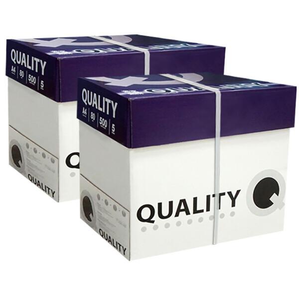 (현대Hmall)퀄리티 A4 복사용지(A4용지) 80g 2500매 2BOX 상품이미지