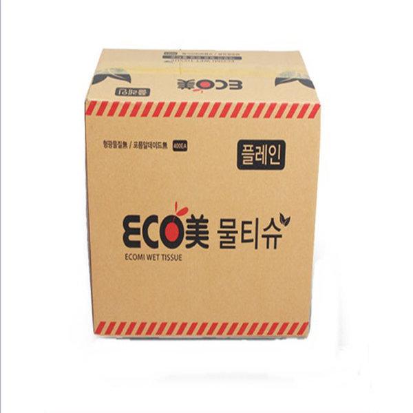 에코미 물티슈 400매(업소용) 1박스 상품이미지