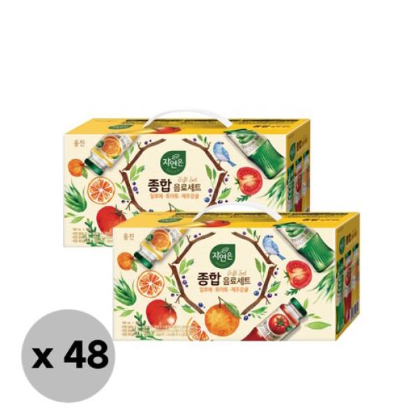 웅진식품  자연은 음료세트(알로에 토마토 감귤)(180ml 12) 4 상품이미지