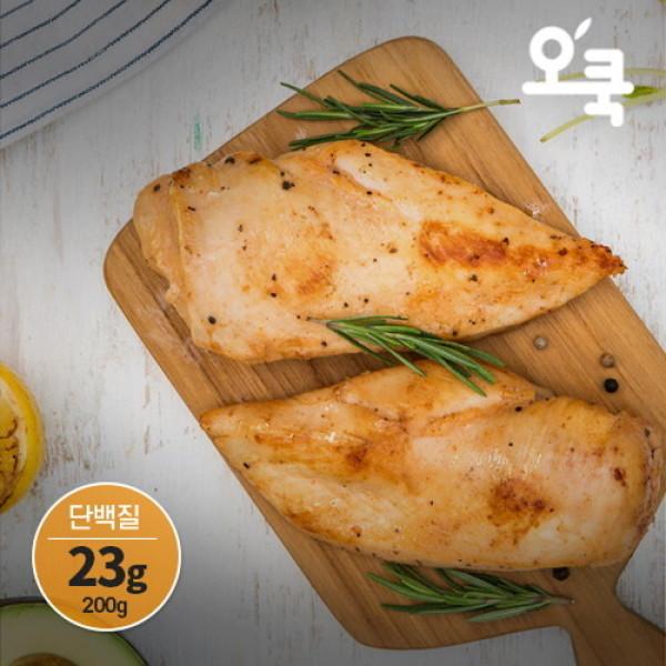 오쿡  신제품 출시 그릴 닭가슴살 5kg (200gx25개) 상품이미지