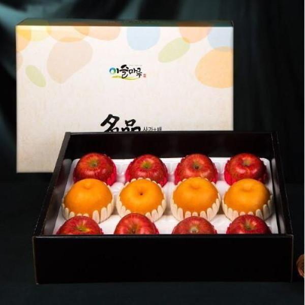 이슬마루 경북 사과 배 혼합 선물세트 4.3kg(사과8개/배4개) 상품이미지