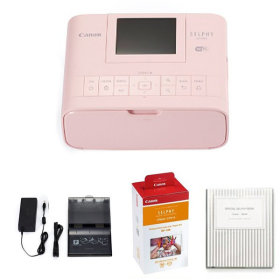 캐논셀피포토프린터CP1300 핑크+108매인화지+잉크2개