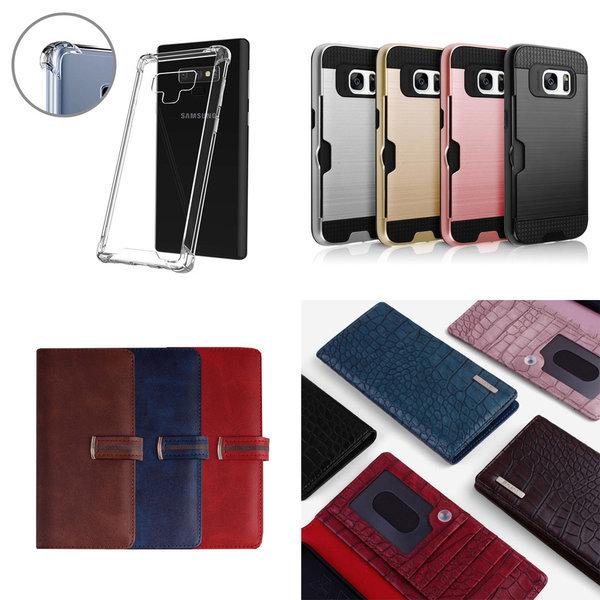 갤럭시A90 5G 다이어리 범퍼 투명 핸드폰케이스 상품이미지