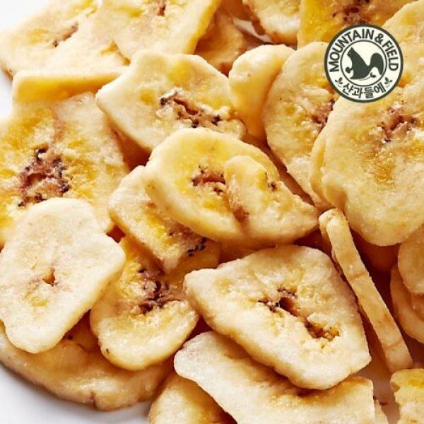 산과들에  달콤 간식 바나나칩 500g 상품이미지