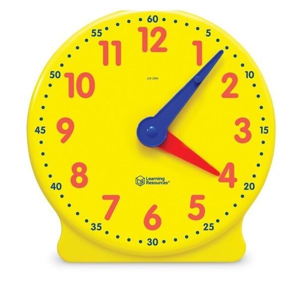 대형 시계 Big time Clock LER 2094 학습교재 교구 상품이미지
