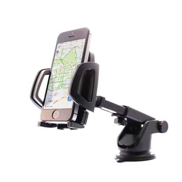 차량용 길이조절 핸드폰거치대 대쉬보드 유리 흡착식 상품이미지