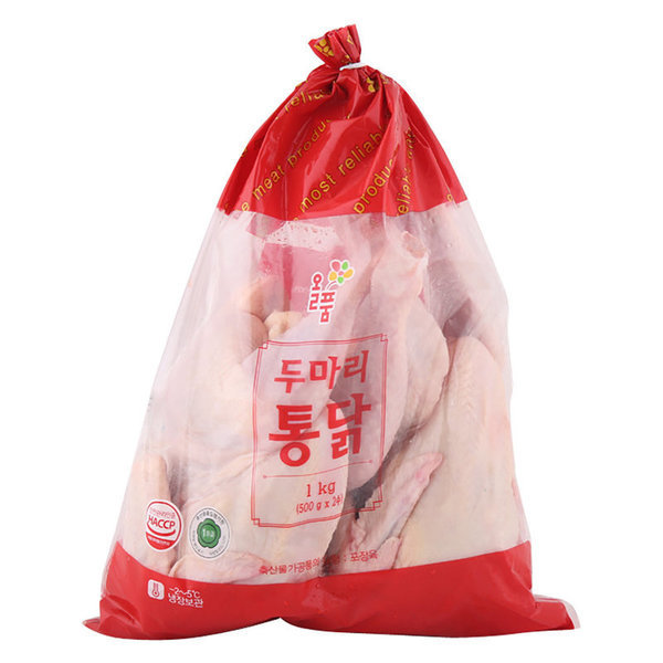 (전단상품)두마리 생닭 500 gx2입 상품이미지