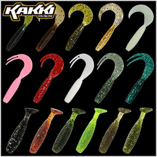 카키/SM그럽 웜/1.5인치/2인치/2.5인치/3인치/4인치 상품이미지