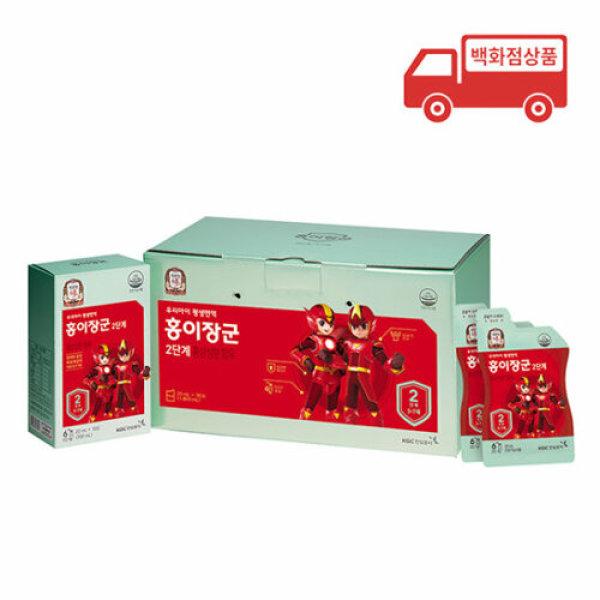 정관장  단계별홍삼제품 홍이장군 2단계 면역력쑥쑥 1 800ml 20mlx90포 상품이미지