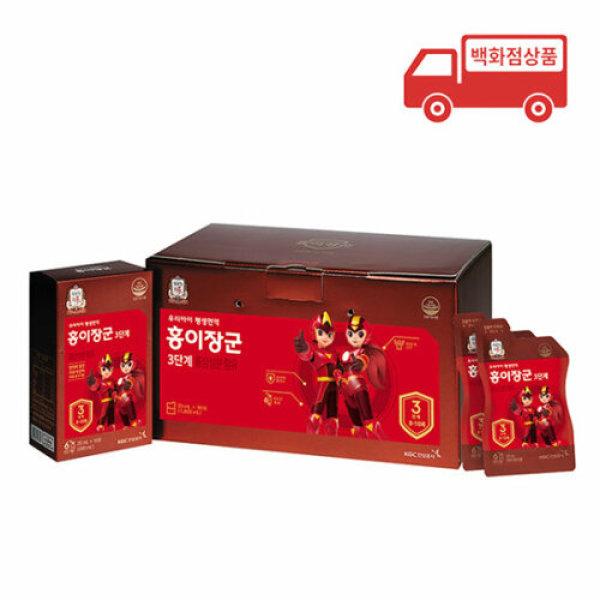 정관장  단계별홍삼제품 홍이장군 3단계 면역력쑥쑥 1 800ml(20mlx90포) 상품이미지