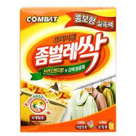 컴배트 좀벌레싹 콤보실속팩 서랍장8개+옷장4개/좀약