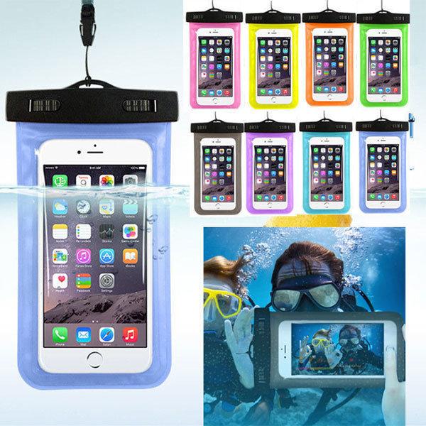 원터치 방수팩 아이폰 스마트폰 케이스 암밴드 IPX8 상품이미지