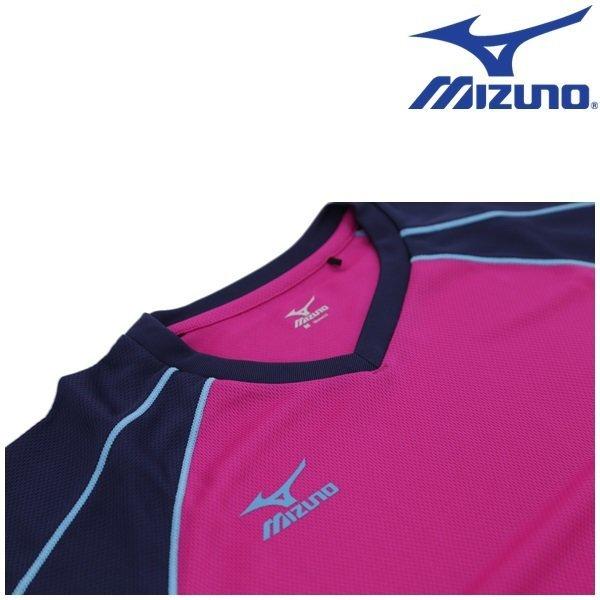 미즈노 배드민턴 테니스 탁구 스쿼시 여성 반팔셔츠 상품이미지