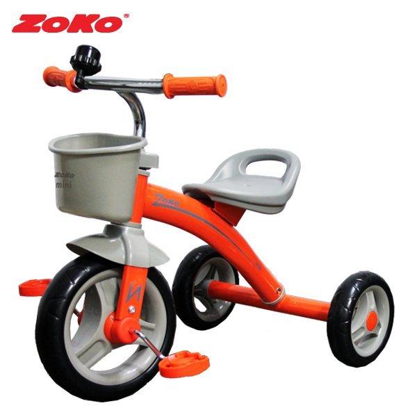 (신제품)ZOKO 조코 미니(mini) 유아세발자전거-오렌지 상품이미지