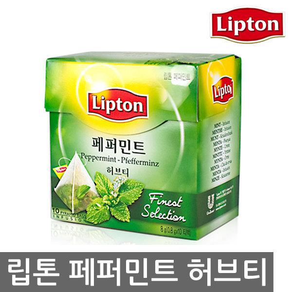 립톤 페퍼민트 허브티 10티백 (피라미드백) 상품이미지