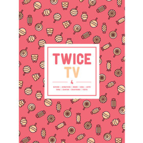 TWICE - TWICE TV4 DVD (Limited Edition) (3DISC + Photo Album 72p + 1 Random Photo Postcard)