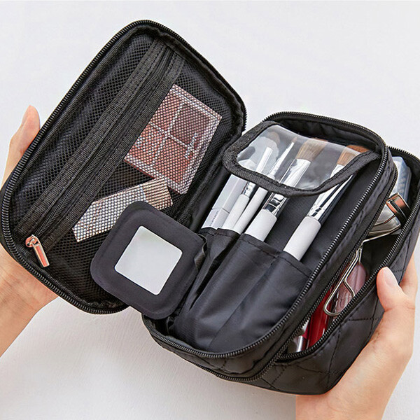 AMPLE 화장품파우치 정리함 메이크업 이너백 가방 상품이미지