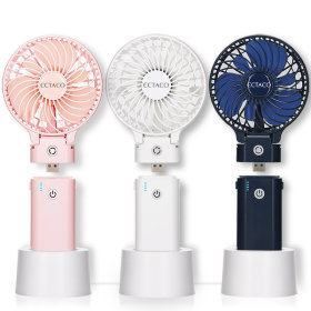 엑타코 오리지널 4400 (크림) 휴대용 미니 핸디선풍기