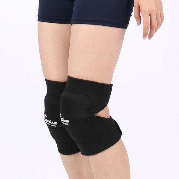 쿠션무릎보호대 큐런 엑티브 무릎보조기무릎아대 상품이미지