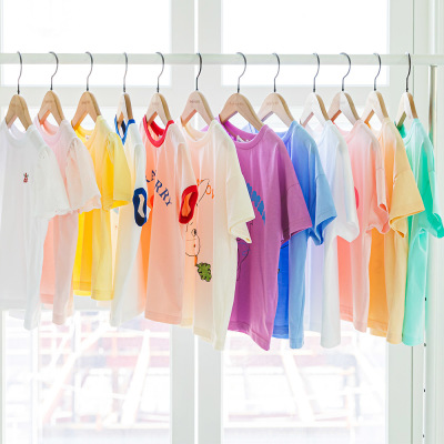 Short-Sleeve Tee/Top And Bottom Set/Dress