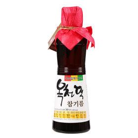 옥천댁_국산참기름_300ML