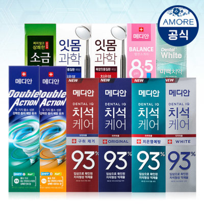 MEDIAN Toothpaste 15pcs Collection (Option)