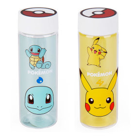 Pokemon tritan transparent water bottle 500ml
