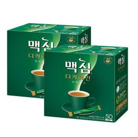 맥심 디카페인 커피믹스 50T+50T 총100T/커피/모카골드