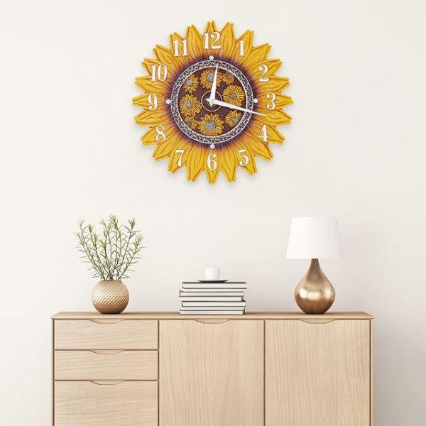무소음벽시계 해바라기시계 CL A02(대) 상품이미지