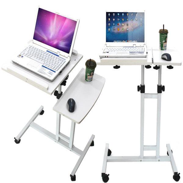 컴퓨터책상/높낮이조절/노트북책상/보조책상/간이책상 상품이미지