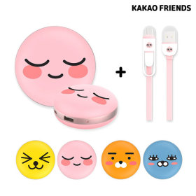 Portable/Macaroon/Cellphone/High-Capacity/Spare Battery/Apeach
