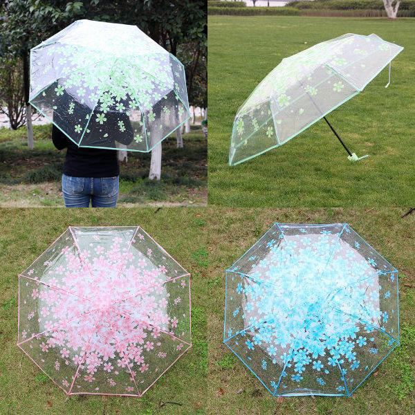 튼튼한 투명 3단 우산 / 예쁜 우산 추천 상품이미지
