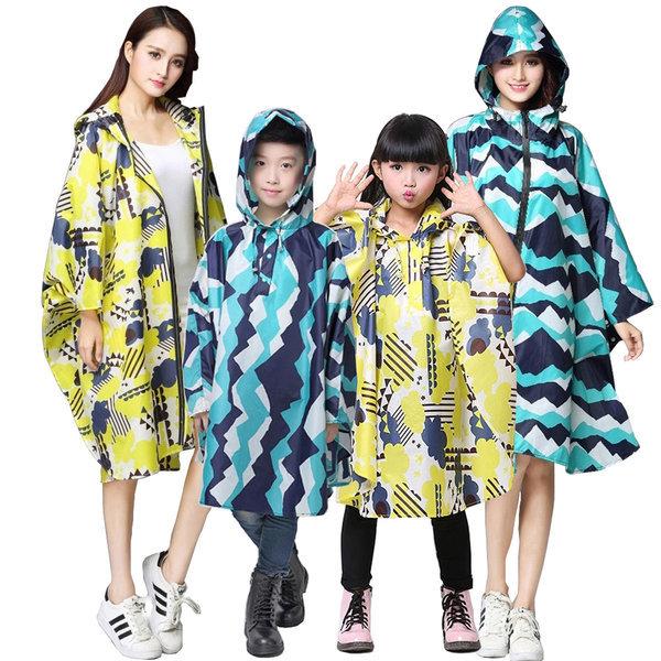 아동 비옷 성인 레인코트 우비 판초우의 아동우의 상품이미지